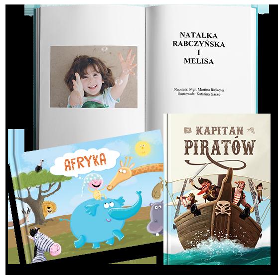 Książki spersonalizowane dla dzieci