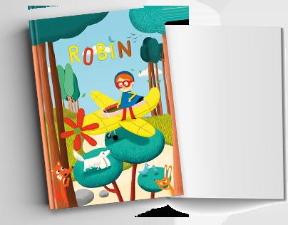 Cărți cu ilustrații personalizate