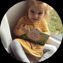 carte personalizată pentru bebeluși editura elefantul meu
