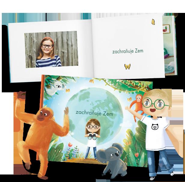Pohádkové knížky, ve kterých hrají vaše deti hlavní roli