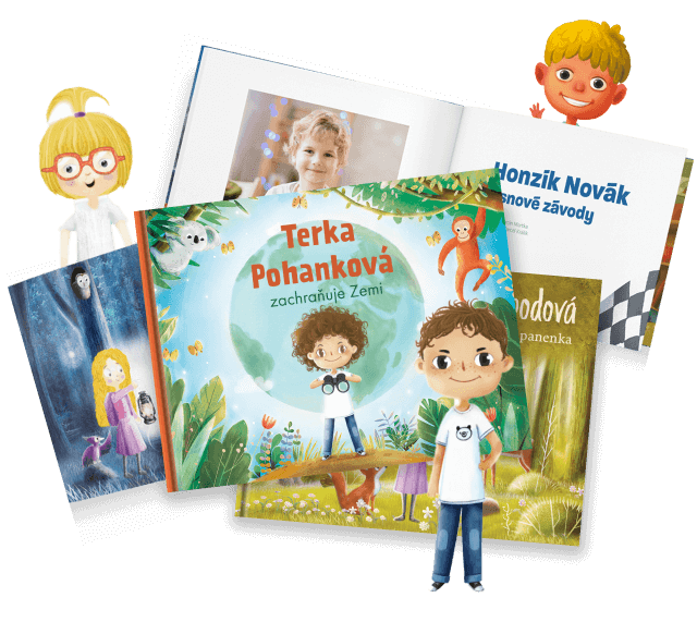 Knihy s vlastní ilustrací